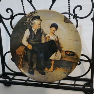 """Norman Rockwell """"The Lighthouse Keeper's Daughter"""""""